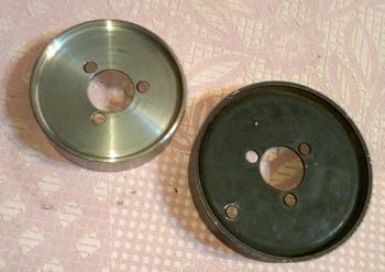 шкив помпы тюнинговый под поликлиновый(широкий) ремень