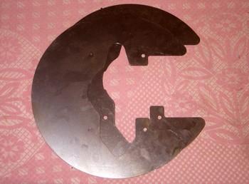 Щитки для задних дисковых тормозов 245,255 и 268мм